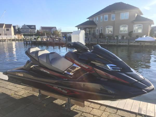 Photo 2016 Yamaha FX SVHO Cruiser - $10,500 (Toms River)
