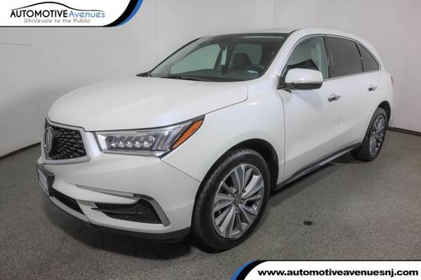Photo 2017 Acura MDX, White Diamond Pearl - $28,995 (Automotive Avenues)