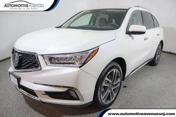 Photo 2017 Acura MDX, White Diamond Pearl - $33,495 (Automotive Avenues)