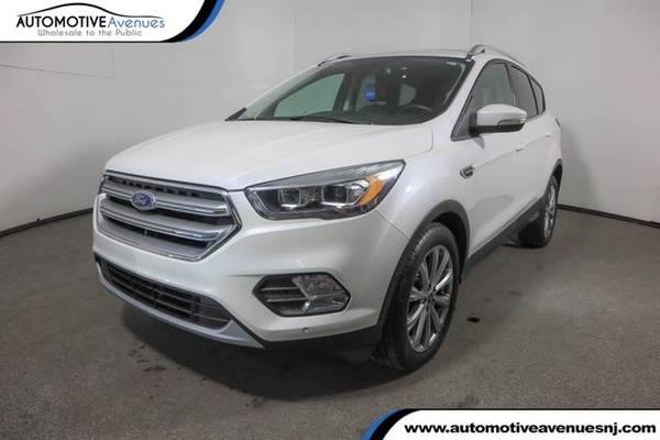 Photo 2017 Ford Escape, White Platinum Metallic Tri-Coat - $16,995 (Automotive Avenues)