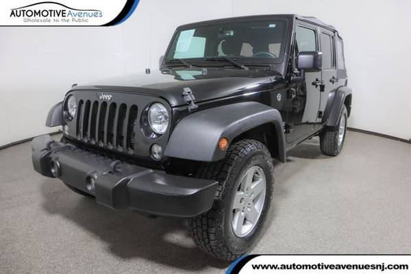 Photo 2017 Jeep Wrangler Unlimited, Black Clearcoat - $25,995 (Automotive Avenues)