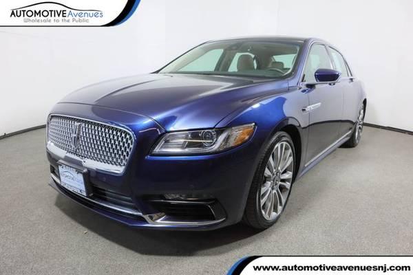 Photo 2017 Lincoln Continental, Midnight Sapphire Blue Metallic - $26,495 (Automotive Avenues)