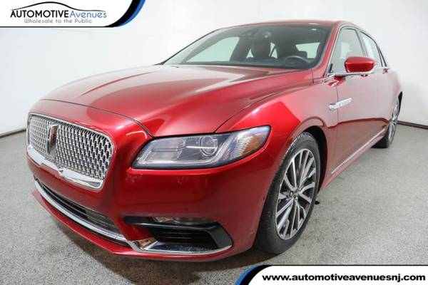 Photo 2017 Lincoln Continental, Ruby Red Metallic Tinted Clearcoat - $21,995 (Automotive Avenues)