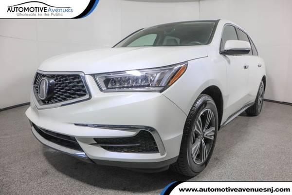 Photo 2018 Acura MDX, White Diamond Pearl - $29,995 (Automotive Avenues)