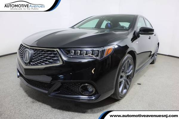 Photo 2018 Acura TLX, Crystal Black Pearl - $27,995 (Automotive Avenues)