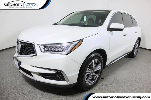 Photo 2019 Acura MDX, White Diamond Pearl - $31,995 (Automotive Avenues)