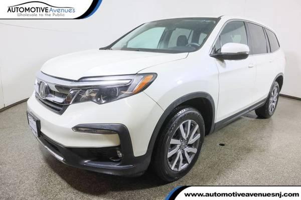 Photo 2019 Honda Pilot, White Diamond Pearl - $31,995 (Automotive Avenues)