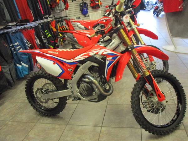 Photo 2020 HONDA CRF450R WORKS EDITION LOW HRS READY TO GO WE FINANCE - $10,999 (VINELAND)