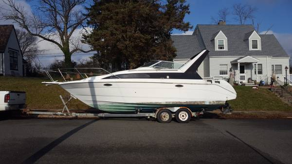Photo 28 foot boat with trailer - $2,000 (Neptune)
