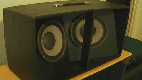 Photo 2x10 Eden Nemesis Custom Bass Cabinet One of a Kind  - $120 (brick)