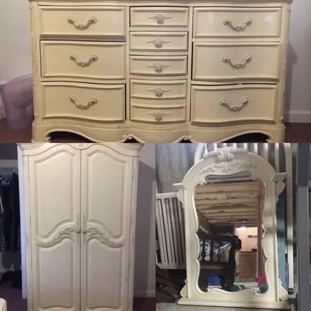 Photo 3 Piece Jessica McClintock Girl39s Bedroom Set - $500
