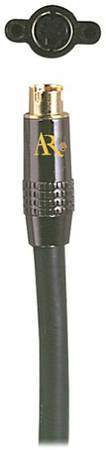 Photo ACOUSTIC RESEARCH HT121C HOME THEATER 6 FT S-VIDEO CABLE GOLD PLATED - $15 (BRICK)