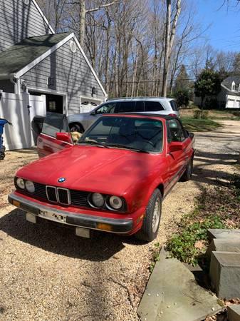 Photo BMW 325I convertible E30 - $3,700 (Middletown)
