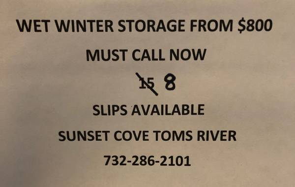 Photo Boat Slips for Rent - $800 (Toms River)
