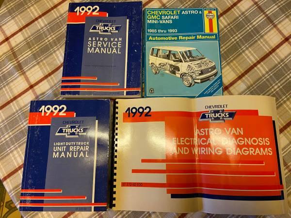 Photo Car Repair Manuals (7) Audi, Mercedes, Chrysler Plymouth Dodge - $20 (Beachwood)
