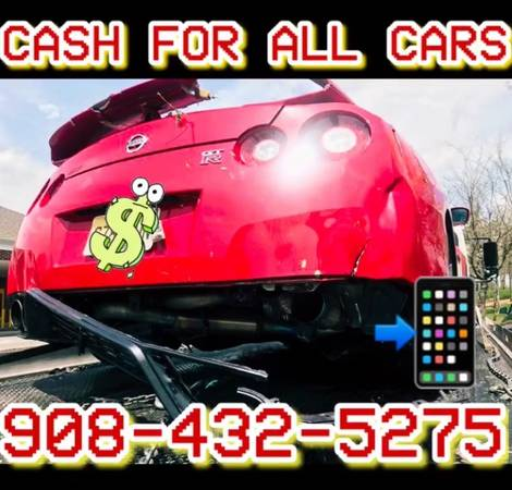 Photo Cash for Cars  Junk Cars - $2000 (Jersey Shore)