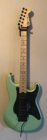 Photo Charvel Pro mod So Cal Specific Ocean Exc Cond - $650 (Galloway)