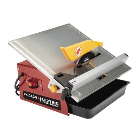 Photo Chicago Electric Tile Saw, 7 inch - $40 (Ocean)