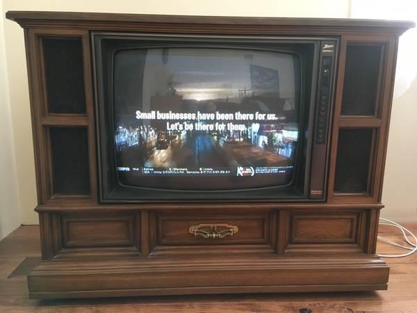 Photo Classic Zenith Console TV - $35 (Toms River)