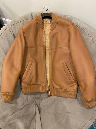Photo Coach Leather Varsity Jacket Mens Medium - $1,255 (Highlands)