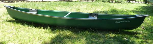 Photo Coleman Outfitter 15 Canoe - 15 Ft. 3 people-570 LBS. , 38quot W - $350 (Brick,NJ)