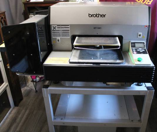 Photo Direct to Garment printer BROTHER GT-541 DTG shirt printing press used - $1300 (Manasquan)