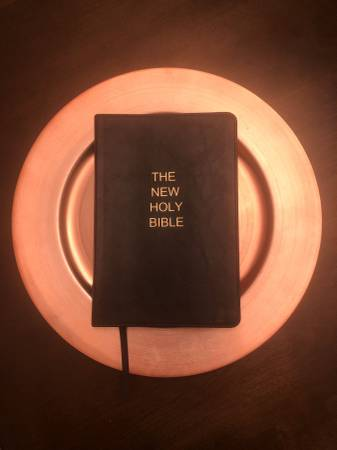 Photo Free, brand new The New Holy Bible. No charge shipping (NJ)