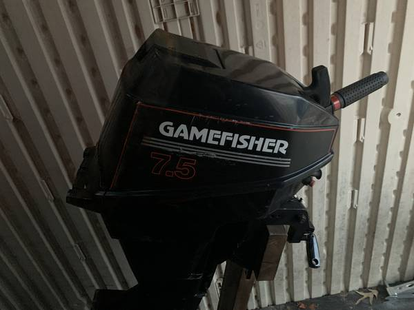 Photo GAMEFISHER 7.5 2 STROKE OUTBOARD MOTOR - $300 (TOMS RIVER)