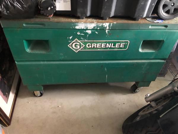 Photo Greenlee Steel Job Box - $125