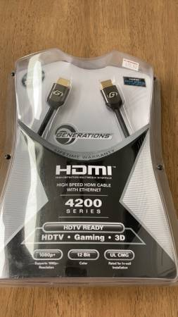 Photo HDMI cable 12 ft - $12 (Seaside Heights)