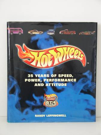 Photo Hot Wheels Book Hard Cover With Dust Jacket Excellent Condition - $20 (Little Egg Harbor)