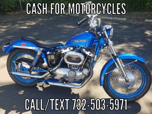 Photo I Pay Cash for Motorcycles Motorcycle - $7,777 (Manasquan)
