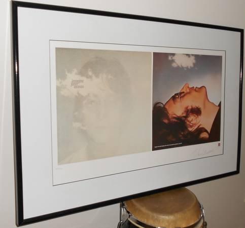Photo JOHN LENNON quotIMAGINEquot Lithograph - Limited Edition - $2,000 (Toms River)