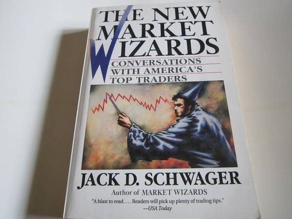 Photo Jack D. Schwager - 1994 - FREE Shipping - The New Market Wizards - $7 (Brick)