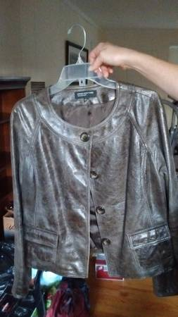 Photo Jones New York Leather Jacket Women39s Large - $40 (Brielle)