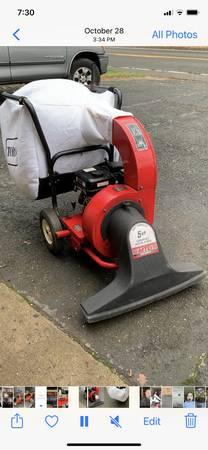 Photo MTD leaf vacuum blower - $400 (Middletown NJ)