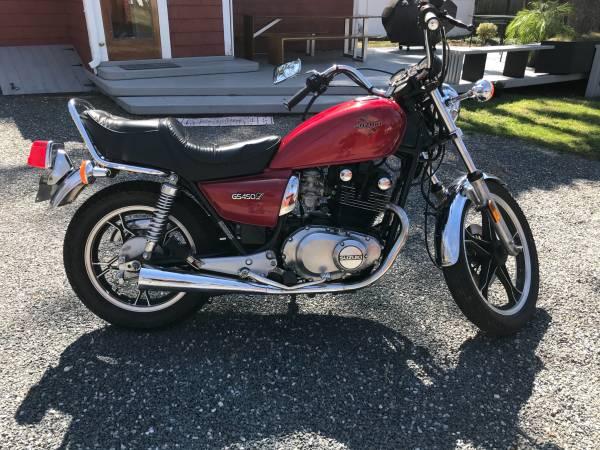 Photo Mint 1985 Suzuki GS450L - $5,000 (Huntington)
