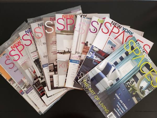 Photo New York Spaces Magazines, 12 Issues, Plus Lux and Design - $15 (Atlantic Highlands)