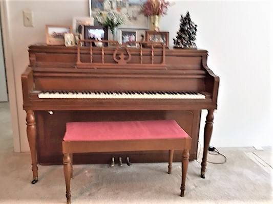 Photo Piano, George Steck Upright - $100 (Tinton Falls)