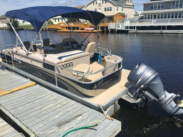 Photo Pontoon Boat - 2011 Bennington 22 SF - $16,800 (Little Egg Harbor Twp, NJ)