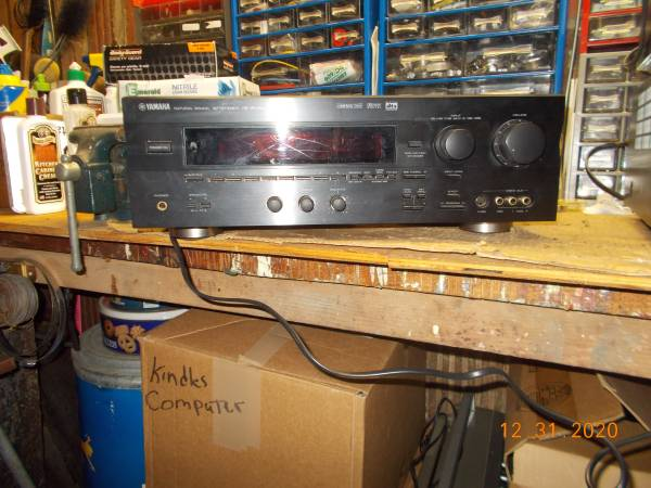 Photo Receiver Amp, Yamaha RX-V595a - $40 (Red Bank)