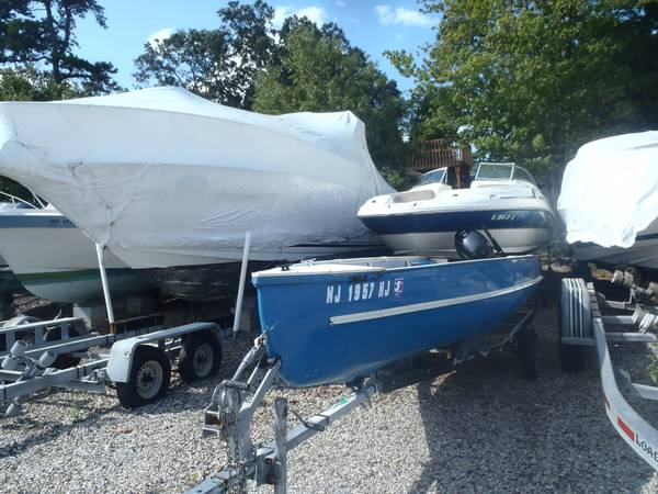 Photo Row Boat 15 hp Eher Motor - $1,500 (Toms River)