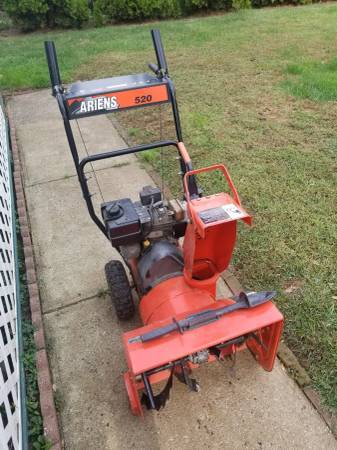 Photo Snow blower Ariens - $250 (long branch)