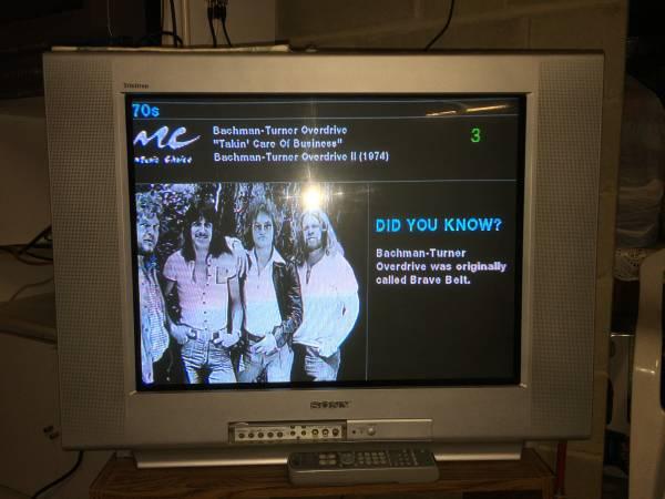 Photo Sony Trinitron 27quot TV model KV-27FS100, Retro Gaming - $80 (Middletown, NJ)
