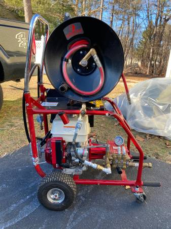 Photo Spartan 727 Honda gas powered water jetter - $3800 (Toms River New Jersey)