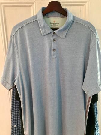 Photo Tommy Bahama Turquoise Large Casual Shirt - $10 (Belmar)