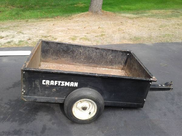 Photo craftsman lawn tractor garden cart - $50 (Jackson)