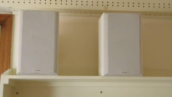 Photo paradigm speakers - $60 (little egg harbor)