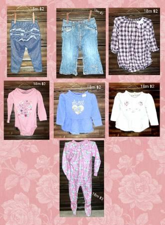 Photo 18 month girls clothes - $5 (Jonesboro)