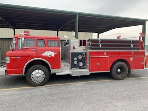 Photo 1979 Ford Firetruck - $4,500 (Batesville)